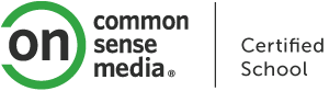 Common Sense Media Certified School Logo